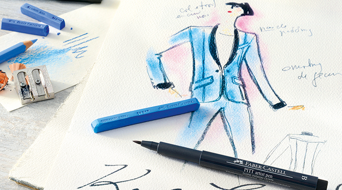 An art exclusive: Karl Lagerfeld x Faber-Castell's limited edition Karlbox