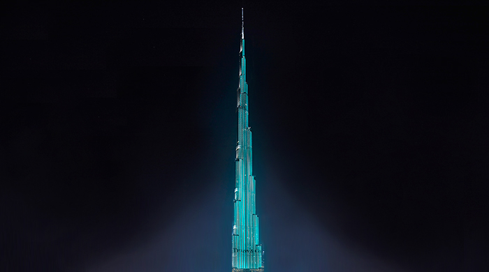 One night only: Tiffany & Co. brings New York to the Burj Khalifa