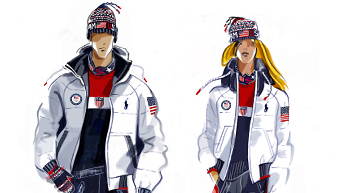 Just in: Ralph Lauren reveals Team USA kits for Olympic Closing Ceremony