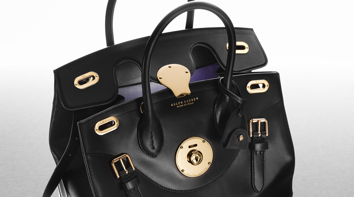 Ralph Lauren debuts its new phone-charging Ricky Bag