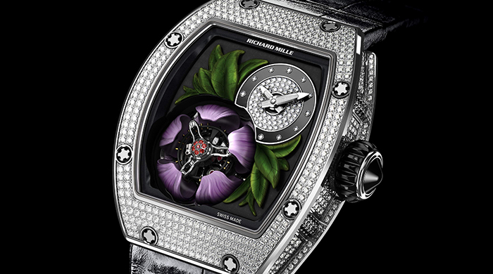 Richard Mille showcases its exclusive nature-inspired timepiece
