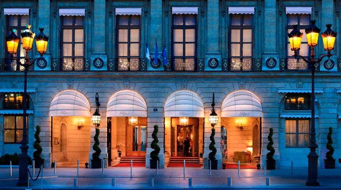 The Ritz in Paris is now taking reservations for March 2016