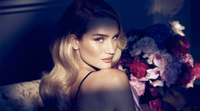 Rosie Huntington-Whiteley stuns in 'Nuit' fragrance campaign for Autograph