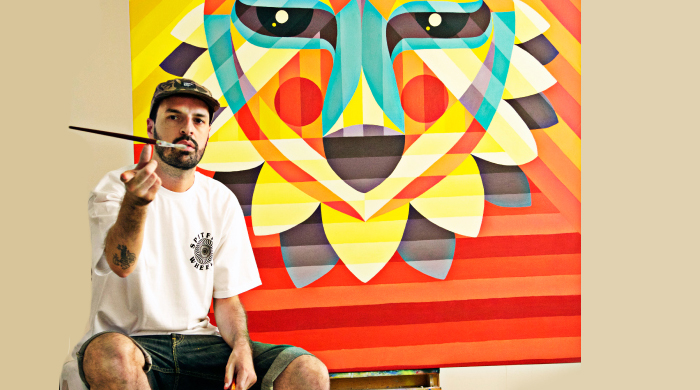 Ruben Sanchez to paint Dubai's largest graffiti mural this month