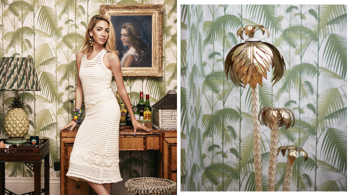 Tory Burch: At home with Jemima Jones and Sabine Getty