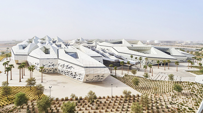Saudi Design Week: Zaha Hadid Architects presents new building