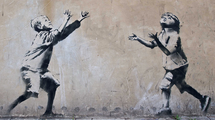 Seven Banksy artworks removed from public walls now for sale