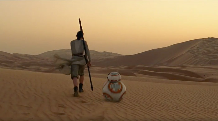 Must-Watch: Star Wars on location in Abu Dhabi