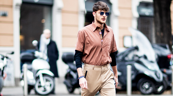 Day three: The best street style looks from Men's Milan Fashion Week