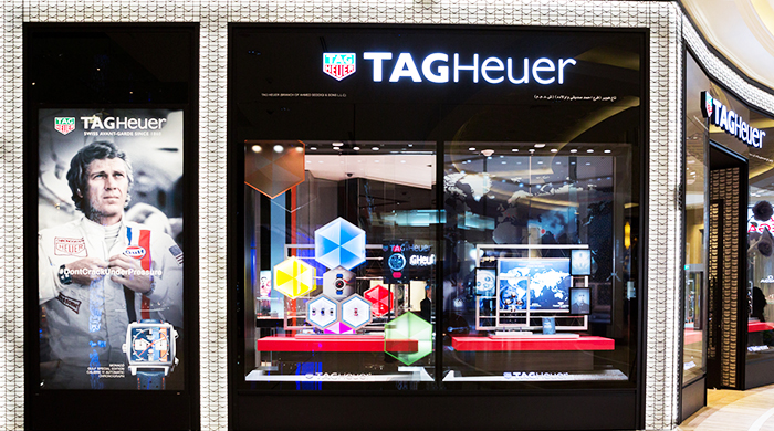 Tag Heuer showcases its history and heritage with a new exhibition in Dubai