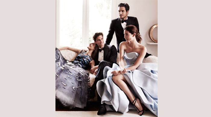 Take a look at the new Carolina Herrera ad starring Lily Aldridge