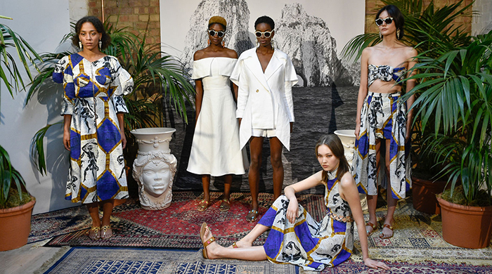 London Fashion Week: Tata Naka Spring/Summer '17