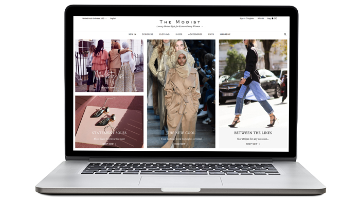 New launch: The Modist, a modest fashion digital retailer