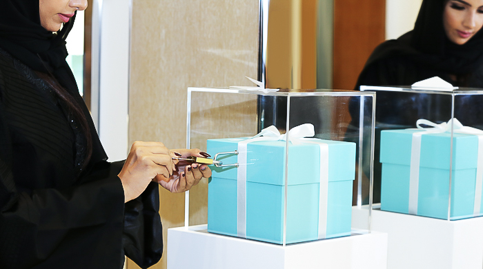 Blue box initiative: Tiffany & Co. celebrates Ramadan in Saudi