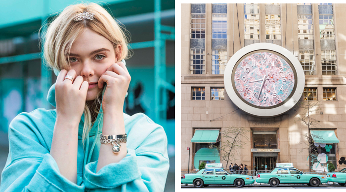 Tiffany & Co. and Elle Fanning take over New York