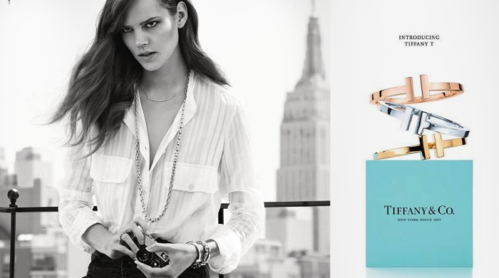 Freja Beha Erichsen stars in Tiffany & Co.'s new campaign