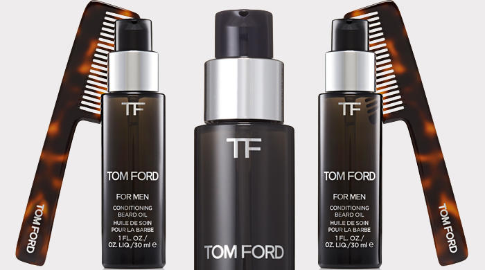 Must have: Tom Ford launches 'Beard Oil' for December