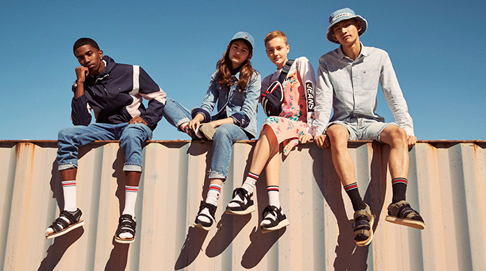 Exclusive: Tommy Hilfiger assembles a cool new crew for S/S'18 Tommy Jeans campaign