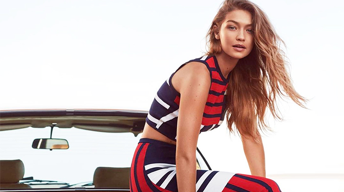 First look: Tommy Hilfiger x Gigi Hadid's Spring '17 collection