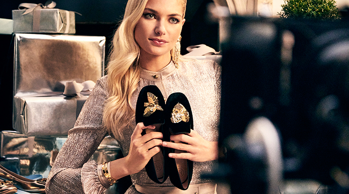 Must-watch: Jessica Hart stars in Tory Burch's holiday video