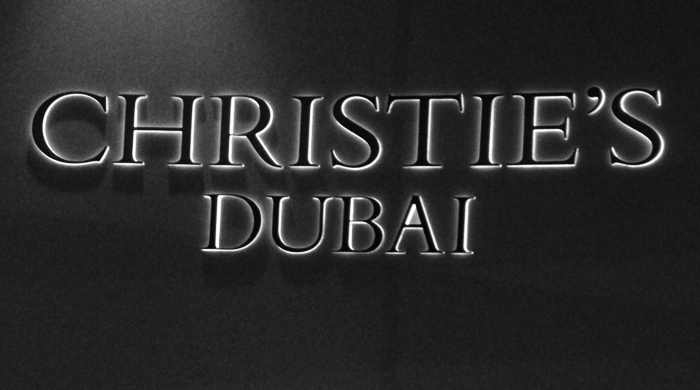 Christie's Dubai auction will benefit UN support in Syria