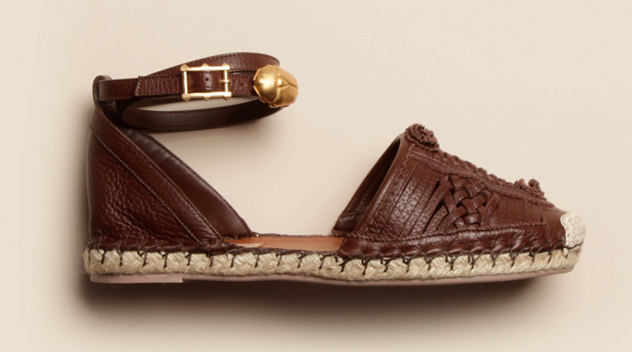 Object of desire: Valentino's scarab espadrilles