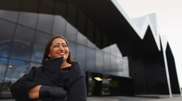 Street side: Zaha Hadid celebrated with a tribute in Saudi Arabia