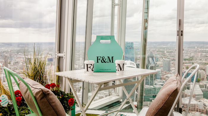Sky-High Tea: London's Shard and Fortnum & Mason team up