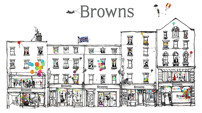 Breaking: Farfetch have bought London's Browns Boutique