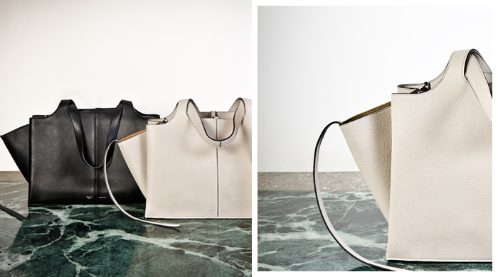 Must-watch: An exclusive look at Celine's Tri-Fold bag