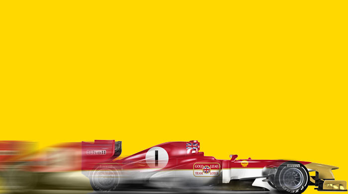 Classic F1 liveries super imposed on 2013 race cars
