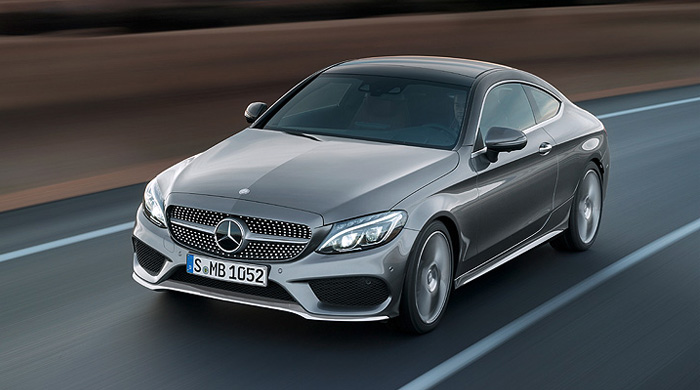 Take a look at the new 2017 Mercedes-Benz C-Coupe