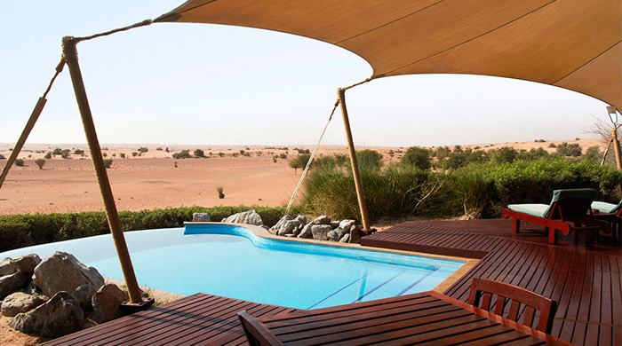 Buro 24/7 Middle East Review: The Al Maha Desert Retreat