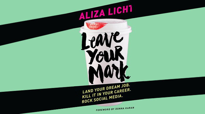 'DKNY PR Girl' Aliza Licht has written a mentoring book