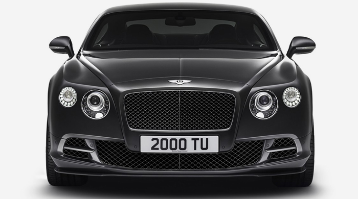 The 2015 Bentley Continental GT Speed