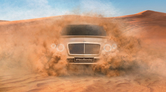 Watch now: The Bentley SUV preview