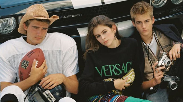 Cindy Crawford's son and daughter star in CR Fashion Book
