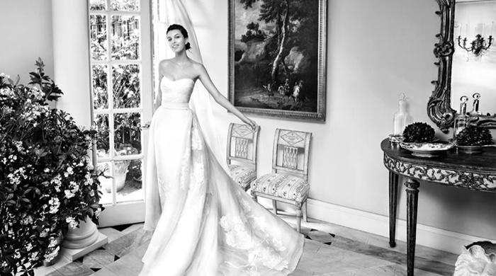 Take a look at Carolina Herrera's new bridal campaign for spring 2016