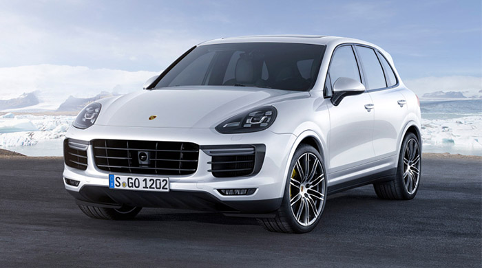 Porsche debut new 2015 Cayenne Turbo S