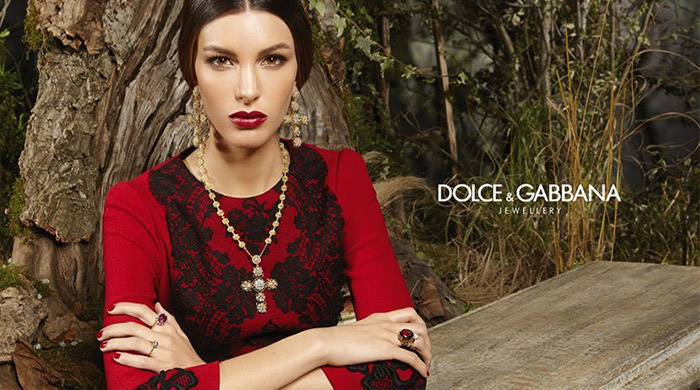 Dolce & Gabbana unveil 2014 jewellery ad campaign