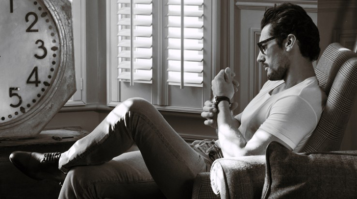 British model David Gandy has invested in East London's cult men's footwear label