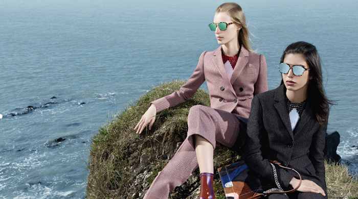 First look: Dior debut new womenswear campaign for Autumn/Winter 15