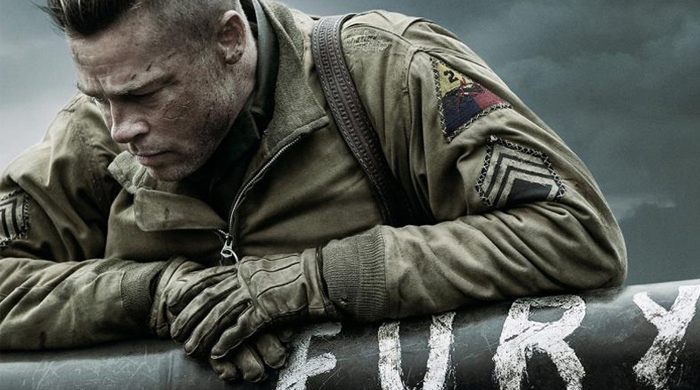 The official trailer for 'Fury' starring Brad Pitt is released