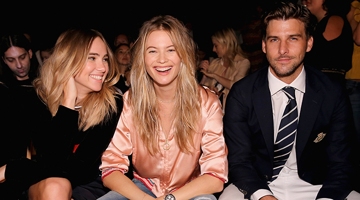 The guests at the Tommy Hilfiger Spring/Summer 16 show