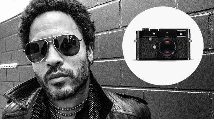 Lenny Kravitz and Leica collaborate on a limited edition camera kit