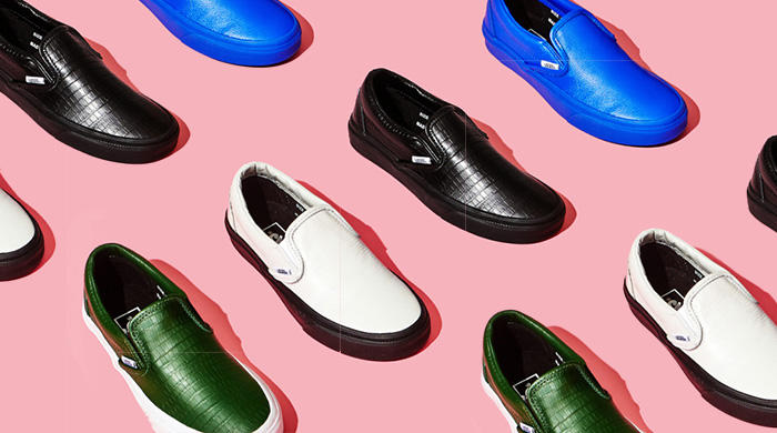 Opening Ceremony collaborates with Vans for a capsule collection of slip-ons