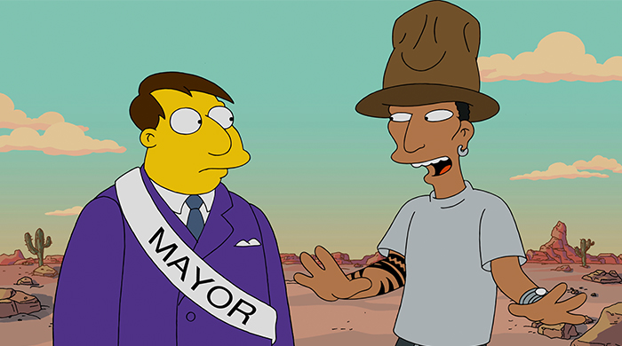 Pharrell gets kicked out of Springfield in new special Simpsons episode