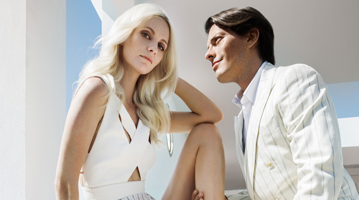 Poppy Delevingne unites with Aquazzura
