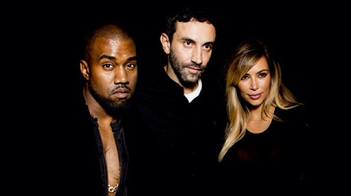 """They represent the society of today"" – Riccardo Tisci on 'Kimye'"