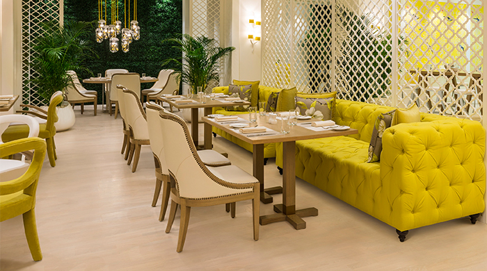 Gary Rhodes debuts new eatery 'W1' at the Grosvenor House hotel in Dubai